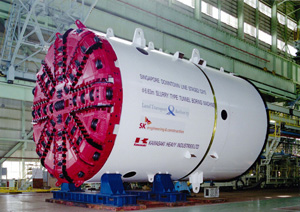 Five Slurry Shield Machines Ordered For Singapore S