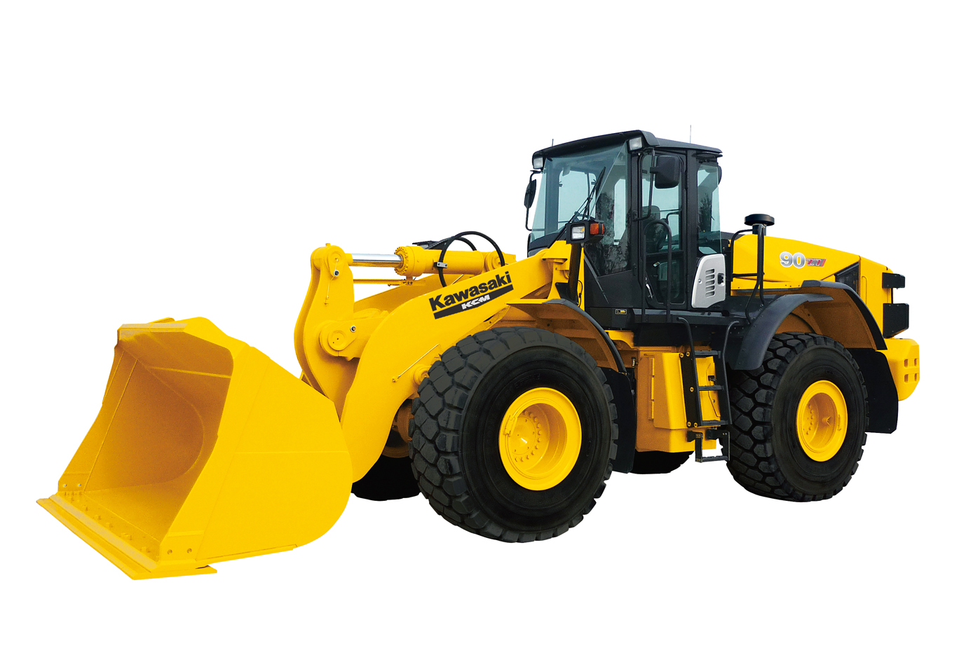 Kawasaki Launches 6 New Wheel Loader Models Compliant with 2011 ...