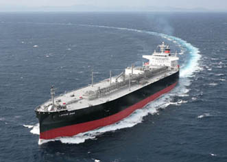 LPG Carrier Lotus Gas Delivered | Kawasaki Heavy Industries
