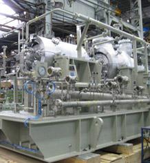 natural gas turbine compressor. kawasaki ships gas turbine-driven natural compressor train for indian offshore compression turbine b