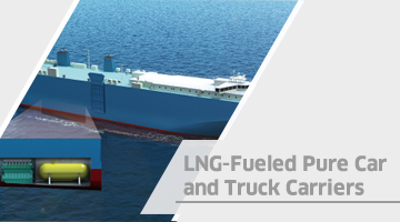 LNG-Fueled Pure Car and Truck Carriers