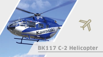 BK117 C-2 Helicopter