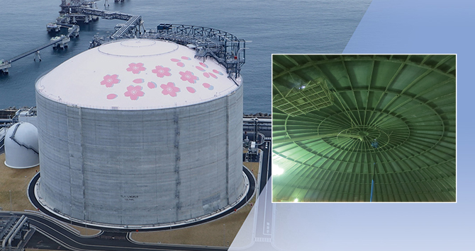 LNG Tank (New safety factor applied)