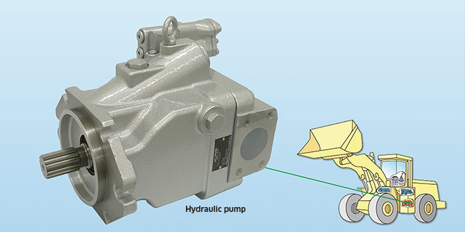 Hydraulic Pump for Mobile Machinery K3VLS85