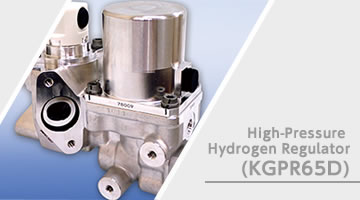 High-Pressure Hydrogen Pressure-Reducing Valve (KGPR65D)