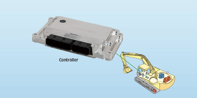 KC-MB-20, Multifunctional Controller for Construction Machinery