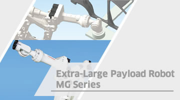 Extra-Large Payload Robot MG Series