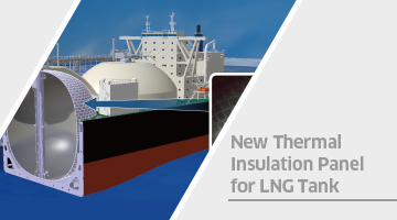 New Thermal Insulation Panel for LNG Tank