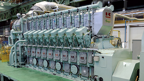 energy kawasaki heavy industries Kawasaki Engines Ship gas engines kawasaki s