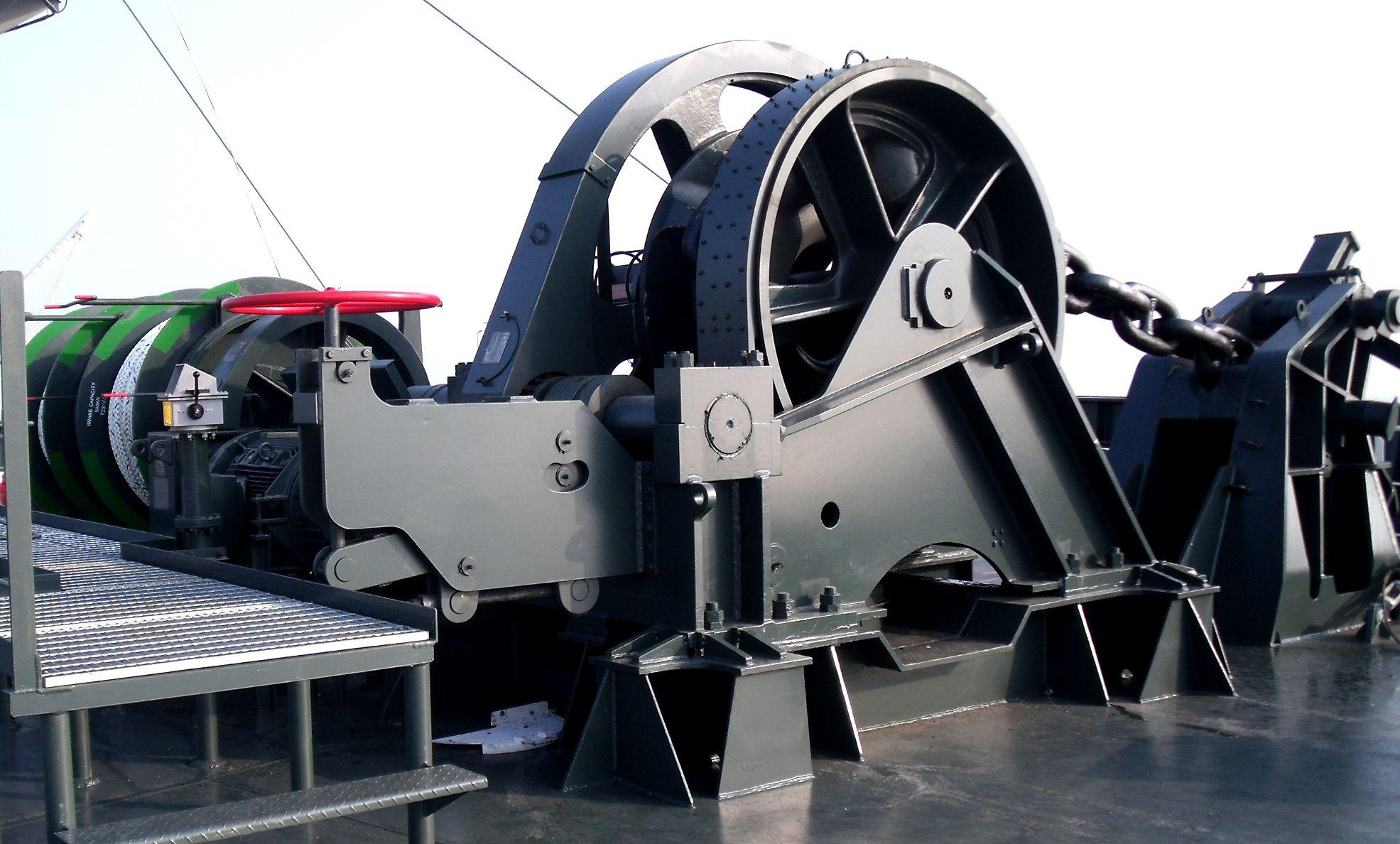 Deck Machineries Kawasaki Heavy Industries