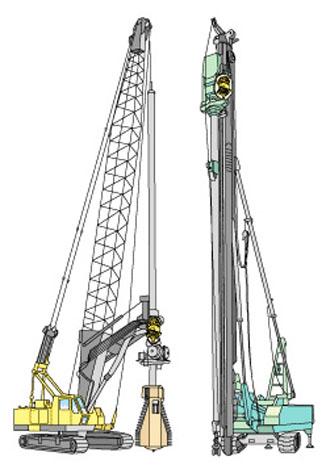 Earth Drills Pile Drivers Kawasaki Heavy Industries