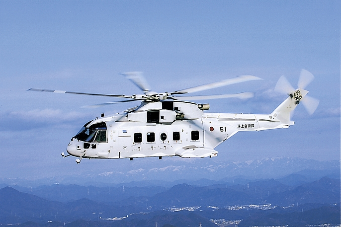 Mch 101 Helicopter Kawasaki Heavy Industries