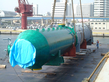 Waste Heat Recovery and Cooling Equipment for Styrene Monomer Plant (SM Plant)