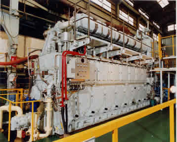 Two-stroke Marine Diesel Engine