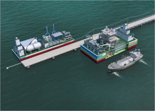 LNG Floating Power Plant