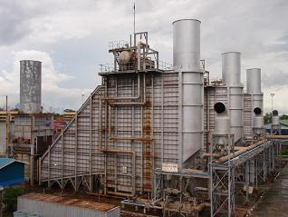 Myanmar / Ahlone  GEC-Alsthom Frame 6 x 3 converted to Combined Cycle