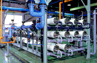 Brackish water desalination RO unit